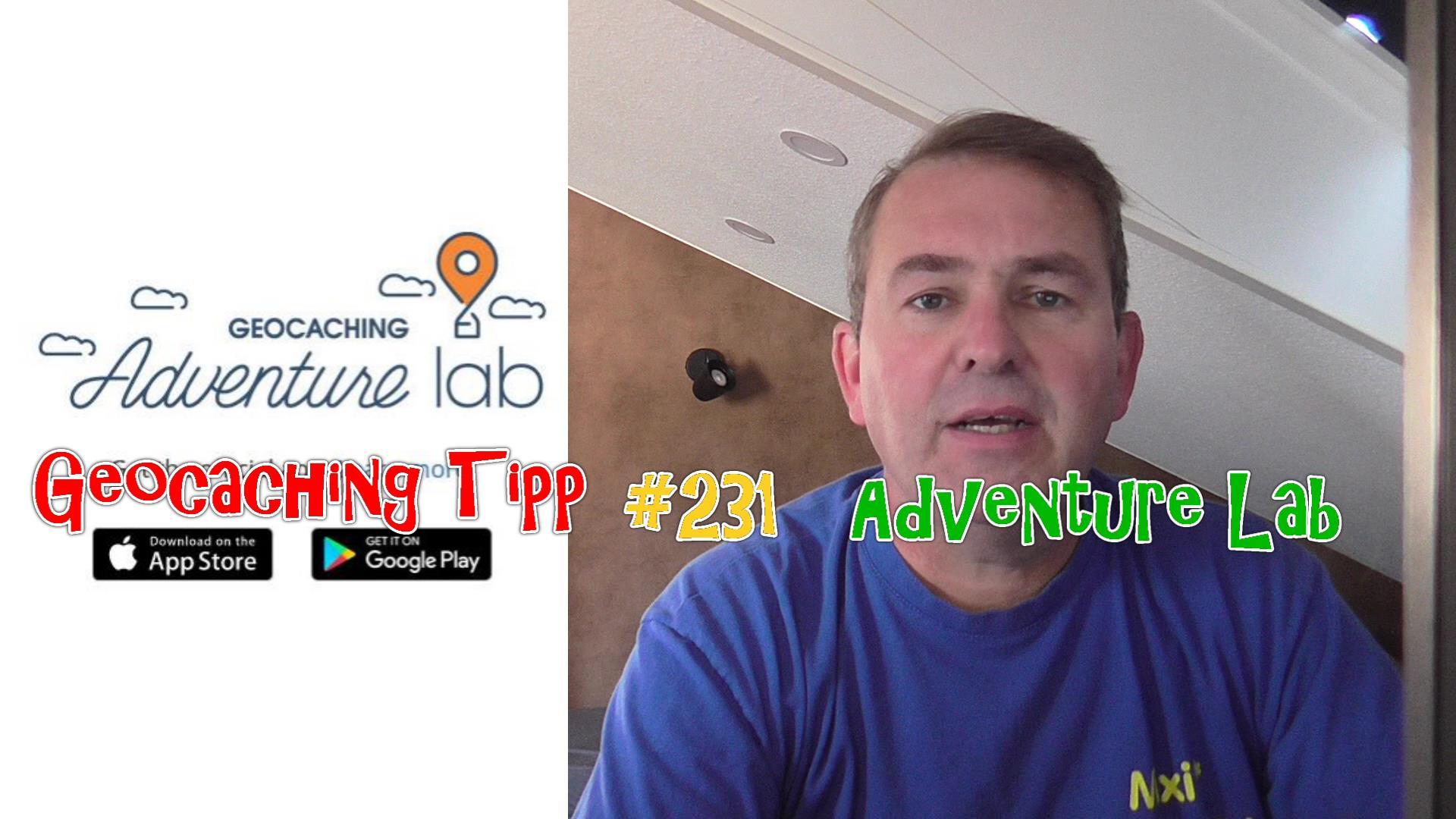 Geocaching Tipp 231 - Adventure Lab