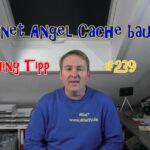 Geocaching Tipp 239 Magnet Angel Cache bauen