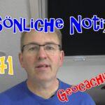 Geocaching Tipp #241 Persönliche Notizen